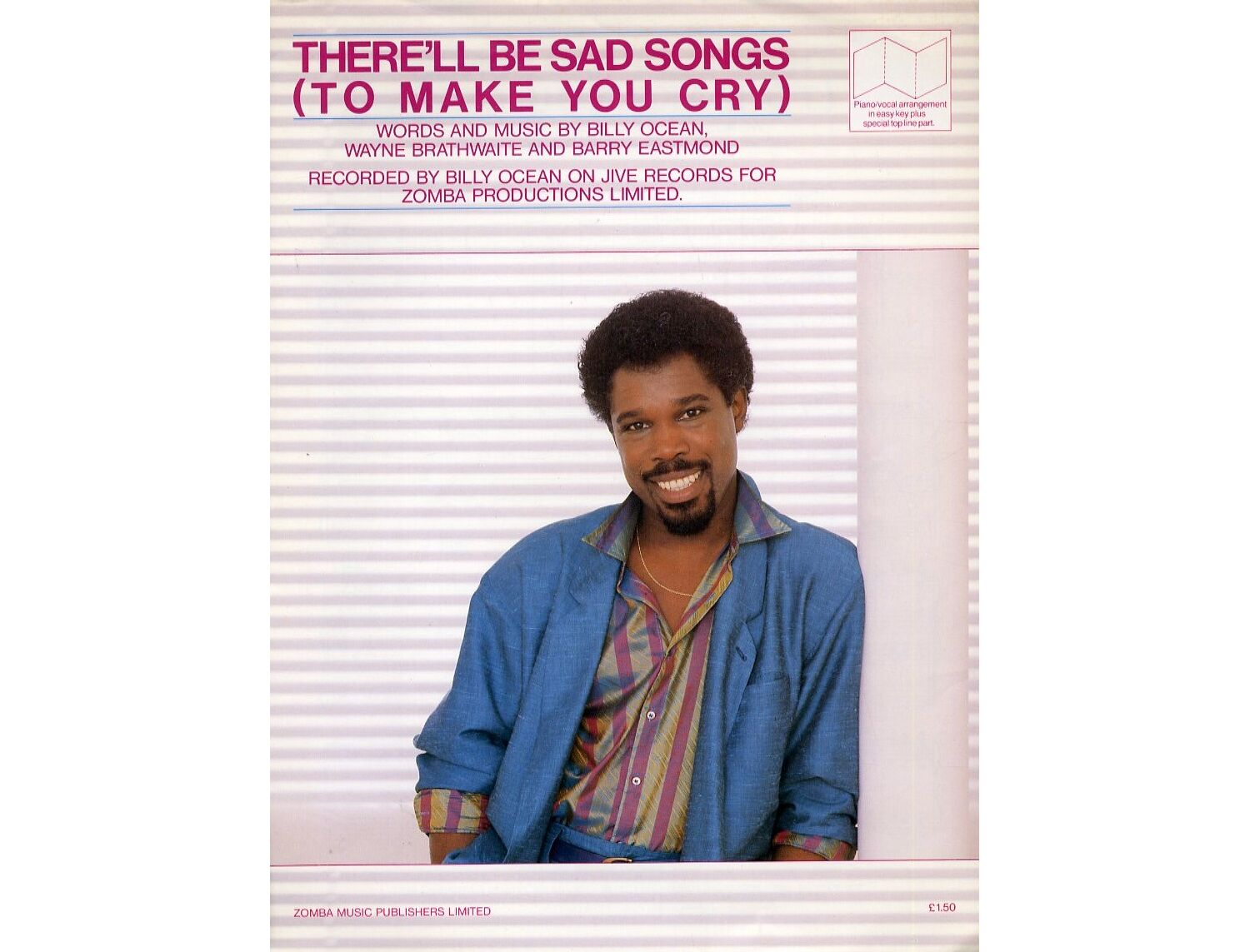 There Ll Be Sad Songs To Make You Cry Billy Ocean Only 14 00