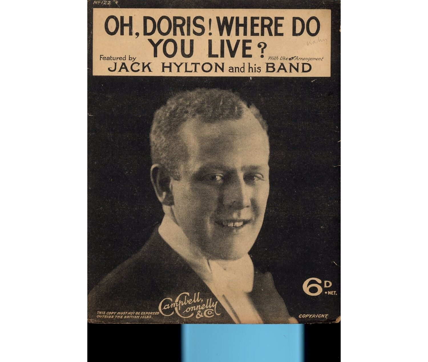 Oh Doris Where Do You Live Song Featuring Jack Hylton Only 8 00 Discover why i live and die. oh doris where do you live song featuring jack hylton only 8 00