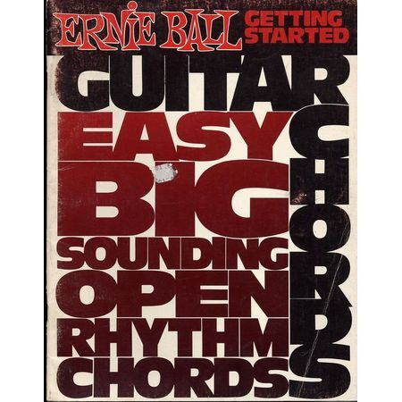 Guitar Chords Getting Started - Easy, big sounding open rhythm ...