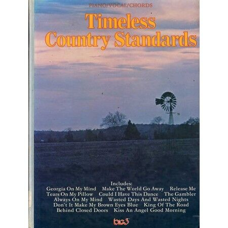 Timeless Country Standards Piano Vocal Chords Only 2000
