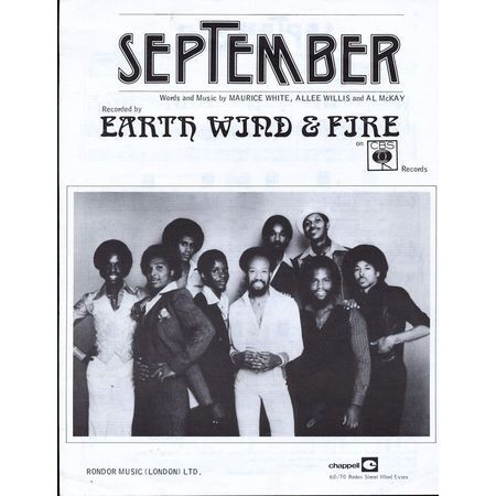 September - Earth Wind and Fire