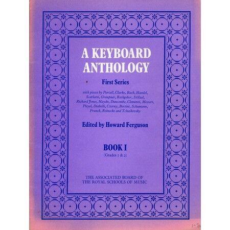 KEYBOARD ANTHOLOGY 1st Series Book 1 Grades 1 /& 2