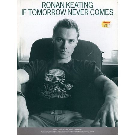 If Tomorrow Never Comes - Ronan Keating - For Piano and Voice with ...