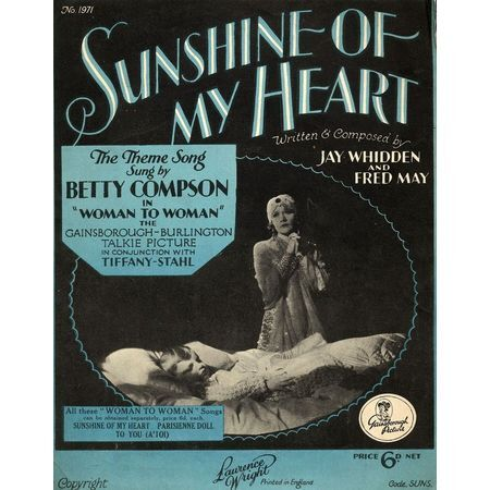 sunshine of my heart as performed by betty compson from the