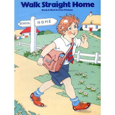 Walk Straight Home - For Piano and Voice with Guitar chord symbols ...