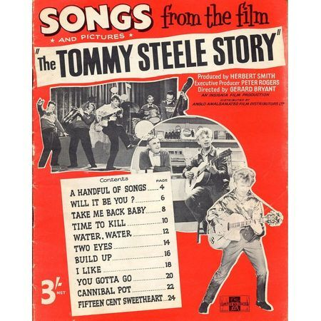 Songs and pictures from the film 'The Tommy Steele Story' - Tommy Steele