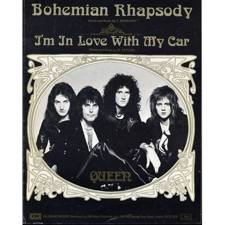 Bohemian Rhapsody Im In Love With My Car Featuring Queen Only 20 00