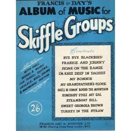 Francis Dayss Album Of Music For Skiffle Groups With Full Words