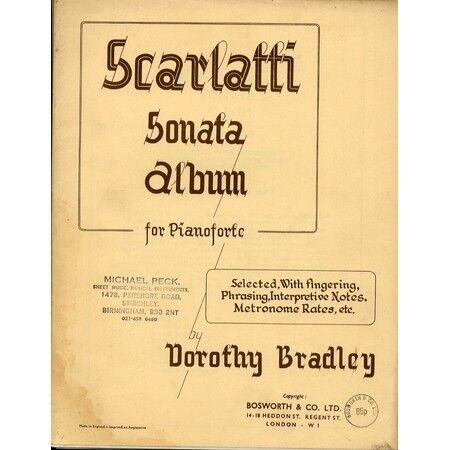 Scarlatti - Sonata Album - For Pianoforte