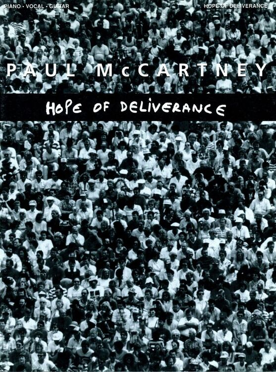 Hope Of Deliverance Recorded By Paul Mccartney Piano Vocal