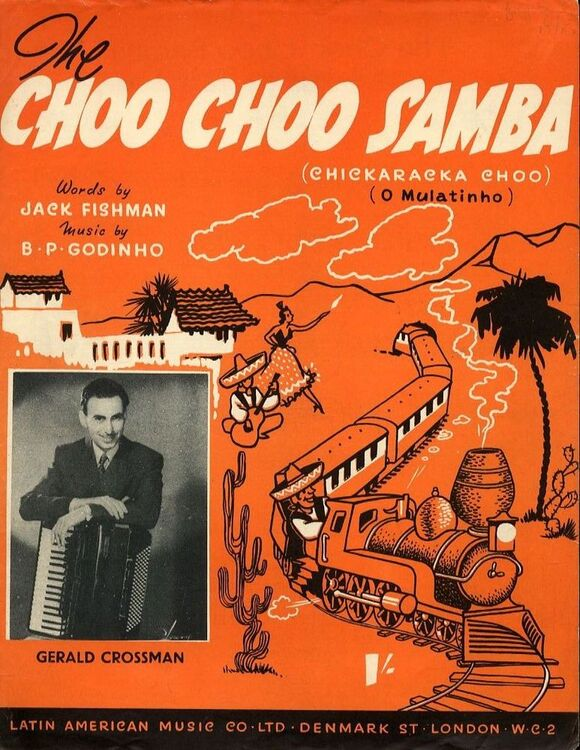 The choo choo samba - Song - Featuring Gerald Crossman