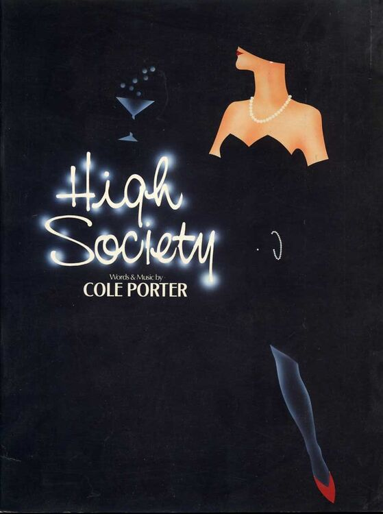 High Society Songs From The Musical Comedy For Voice Piano And