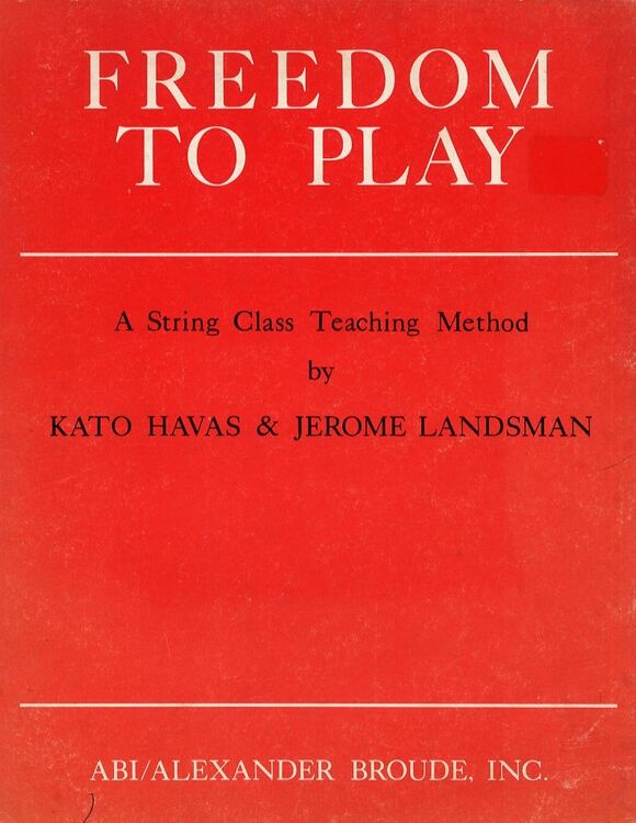 Freedom to Play - A String Class Teaching Method