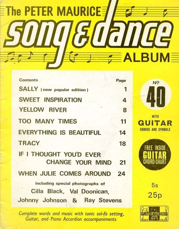 The Peter Maurice Song and Dance Album No. 40 - Complete Words and ...