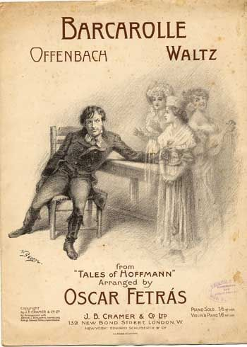 Barcarolle The Opera And I >> Barcarolle Waltz On Motives From Offenbachs Opera Les Contes D