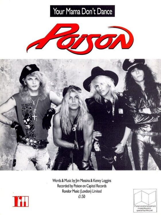 Your Mama don\'t dance - Recorded by Poison on Capitol Records - For ...
