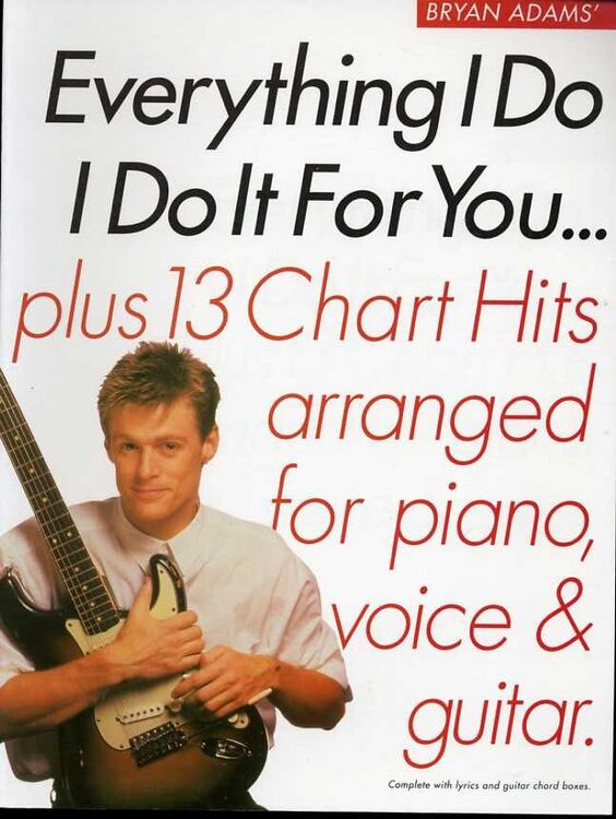 Everything I Do I Do It For You Album Plus 13 Chart Hits