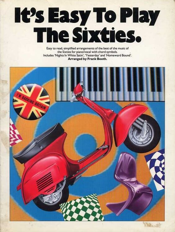 Its Easy To Play The Sixties Easy To Read Simplified