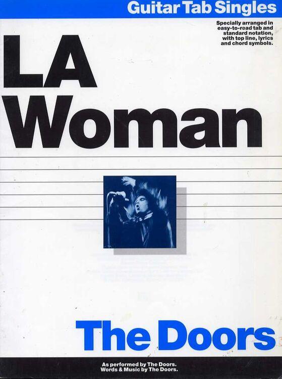 LA Woman - The Doors - Album - Guitar Tab Singles Specially Arranged ...