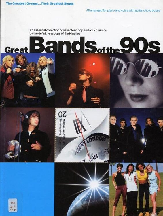 Great bands of the 90s, 17 pop and rock classics