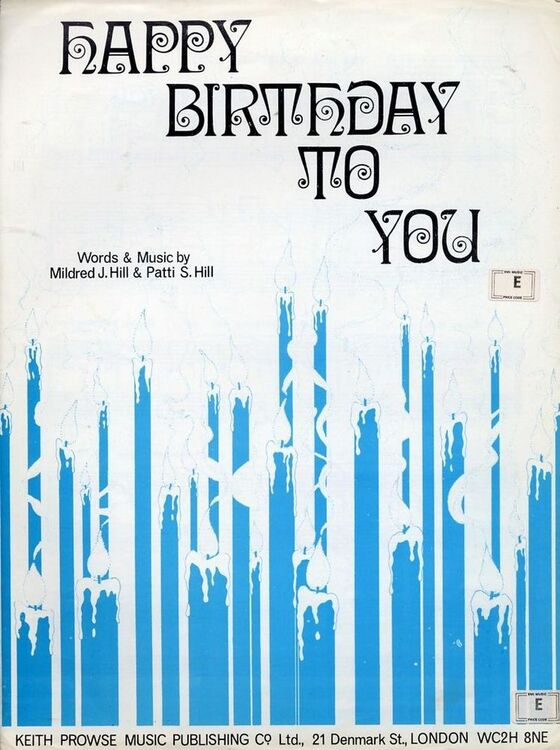 Happy Birthday to You - Song