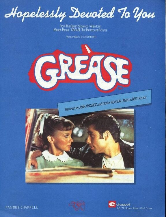 Hopelessly Devoted to You - Featuring Olivia Newton John in