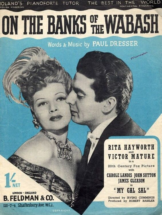 Hayworth victor mature musical