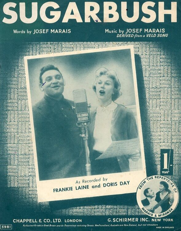 Sugarbush - Featuring Frankie Laine and Doris Day