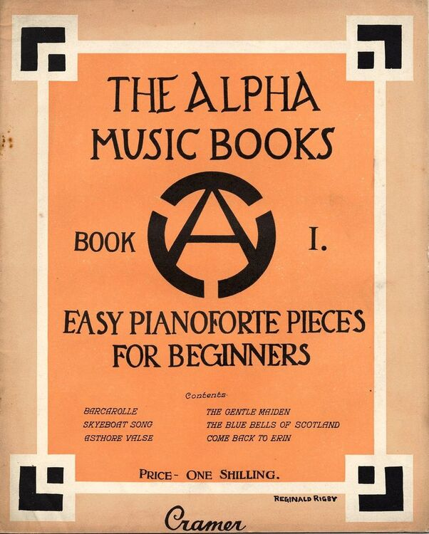 The Alpha Music Books - Book 1 - Easy Pianoforte for Beginners