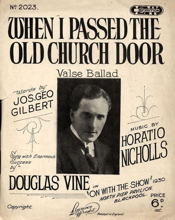 When I Passed the Old Church Door - Valse Ballad - Featuring Douglas Vine