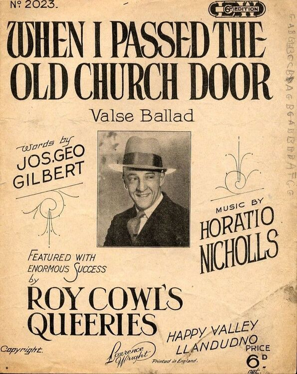 When I Passed the Old Church Door - Valse Ballad - Featuring Roy Cowl
