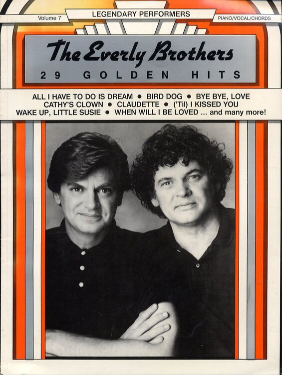 The Everly Brothers 29 Golden Hits Legendary Performers Volume 7