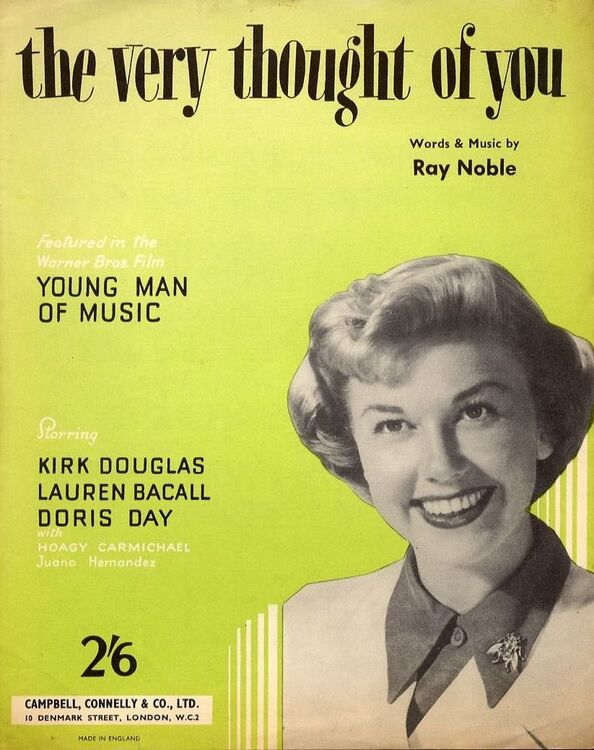 The Very Thought of You - Song Featuring Doris Day