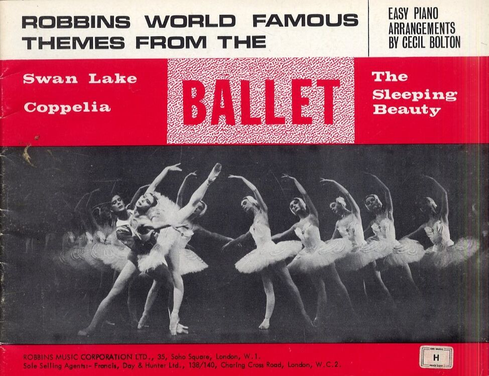 bce9e6d78706 Robbins World Famous Themes from the Ballet - Easy Piano Arrangements with  Pictures