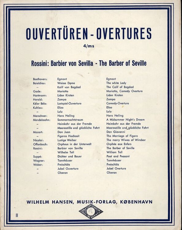 Rossini - The Barber of Seville Overture - Piano Duet