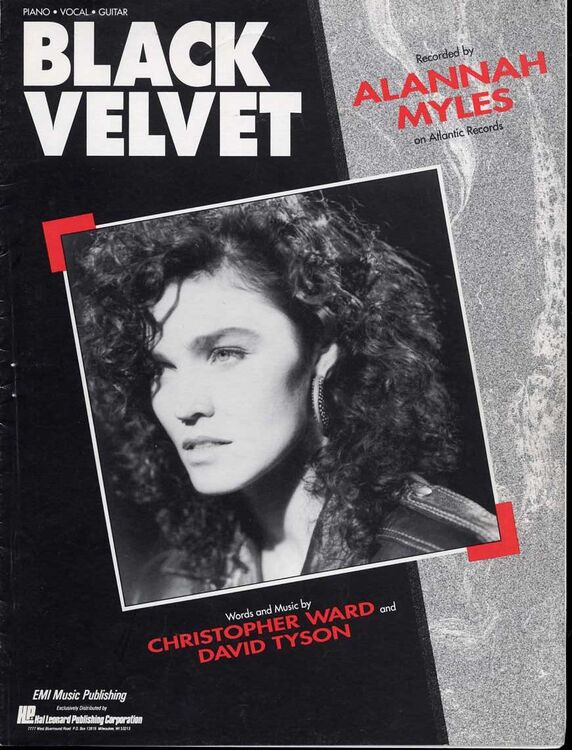 Black Velvet - Featuring Alannah Myles - Piano - Vocal - Guitar only ...