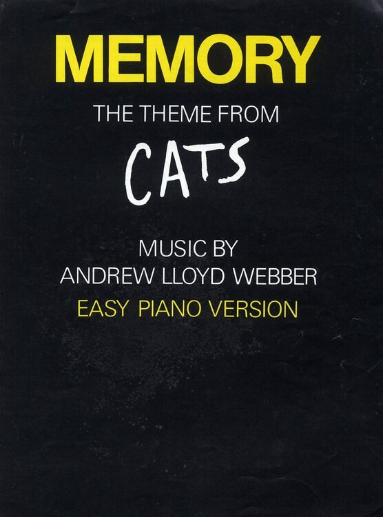 Memory, the theme from Cats - Easy Piano Version