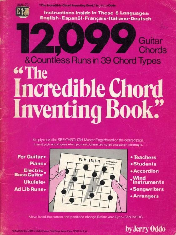The Incredible Chord Inventing Book.\