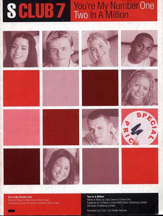 S Club 7 - You're My Number One - Two In A Million