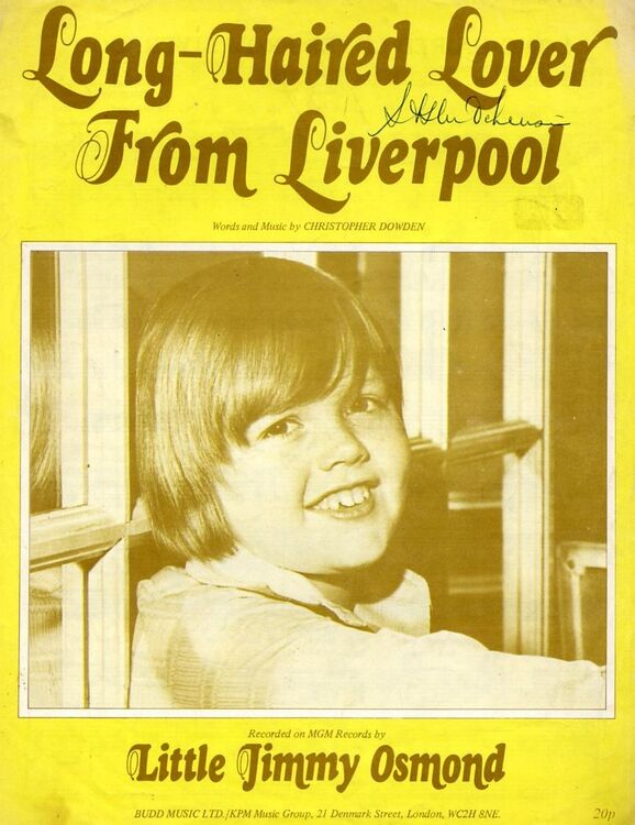 Long Haired Lover from Liverpool - Featuring Little Jimmy Osmond