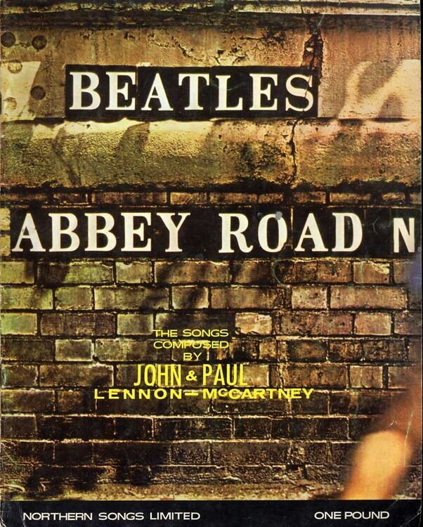 Beatles - Abbey Road - For Vocal & Piano with Guitar Chords only £45.00
