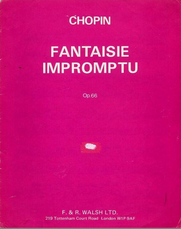 fantasie impromptu op 66