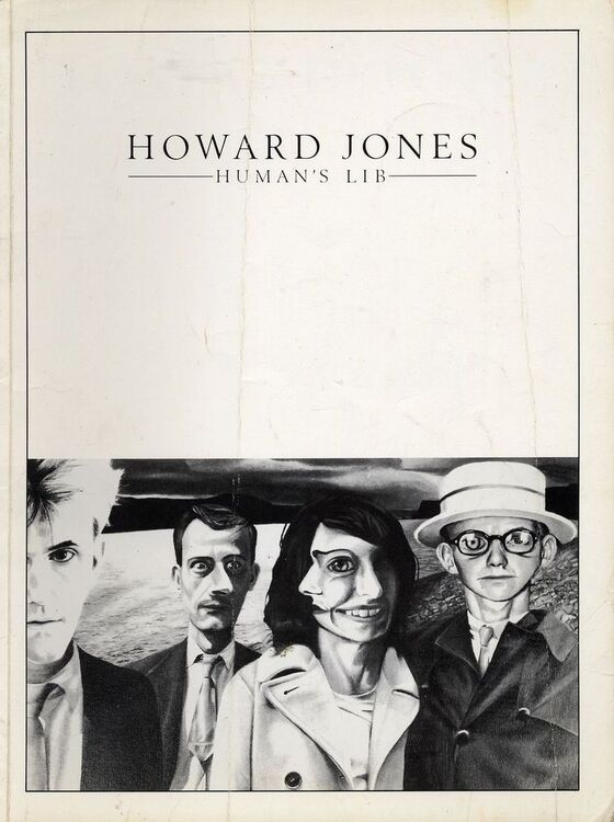 Howard Jones Humans Lib For Piano And Voice With Guitar Chord