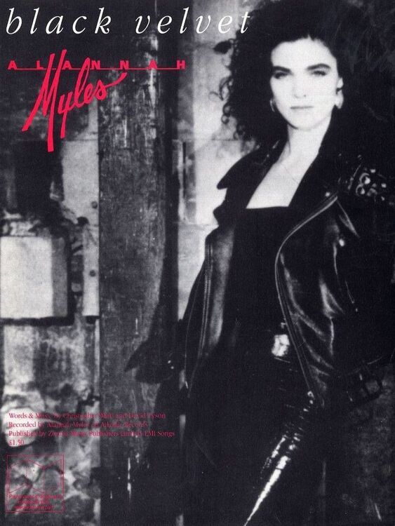 Black Velvet - Recorded by Alannah Myles on Atlantic Records - For ...