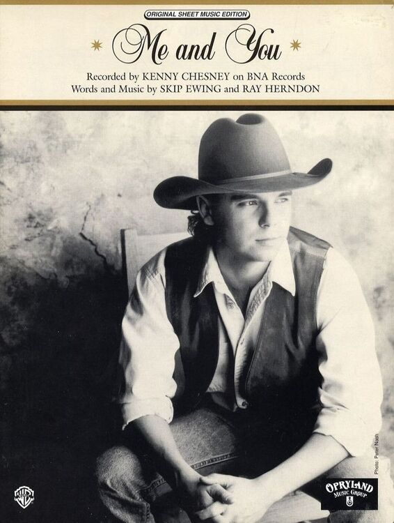 Me and You - Recorded by Kenny Chesney on BNA Records - For Piano ...