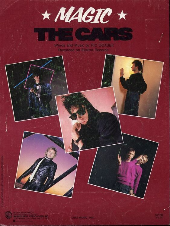 Magic - Song - Featuring the Cars