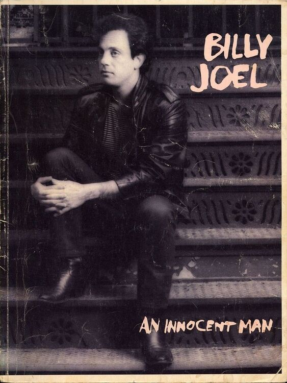 An Innocent Man - Billy Joel - For Voice and Piano with Guitar ...