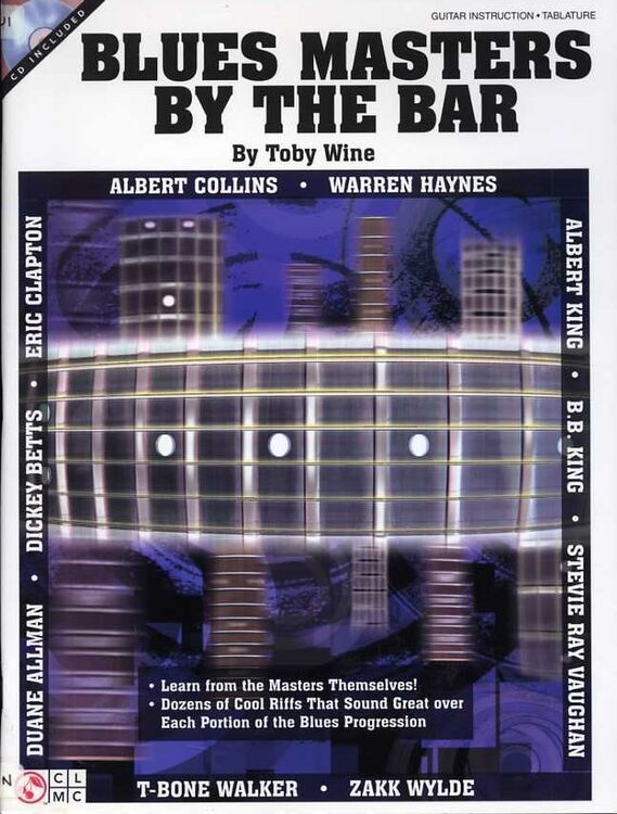 Blues Masters By The Bar Guitar Instruction Tablature Dozens Of
