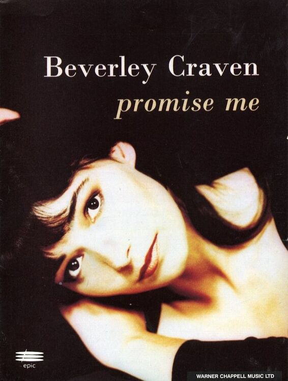 Promise Me - Beverley Craven - For Piano and Voice with Guitar chord ...