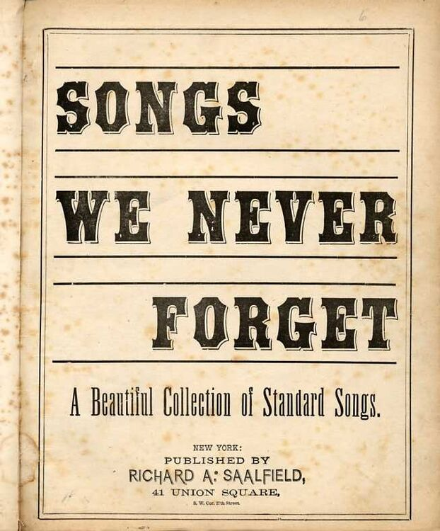 Songs We Never Forget - A Beautiful Collection of Standard Songs - With  Piano accompaniment